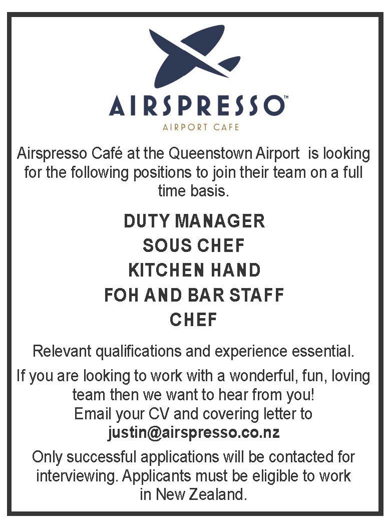 Bar Staff Job Description Duty Manager Sous Chef Kitchen Hand Foh And Jobfix