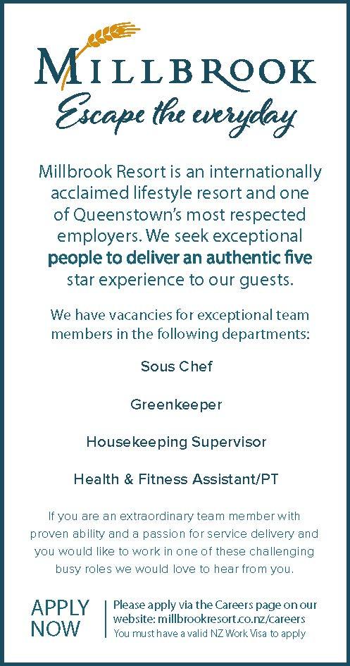 Sous Chef | Greenkeeper | Housekeeping Supervisor | Health & Fitness ...
